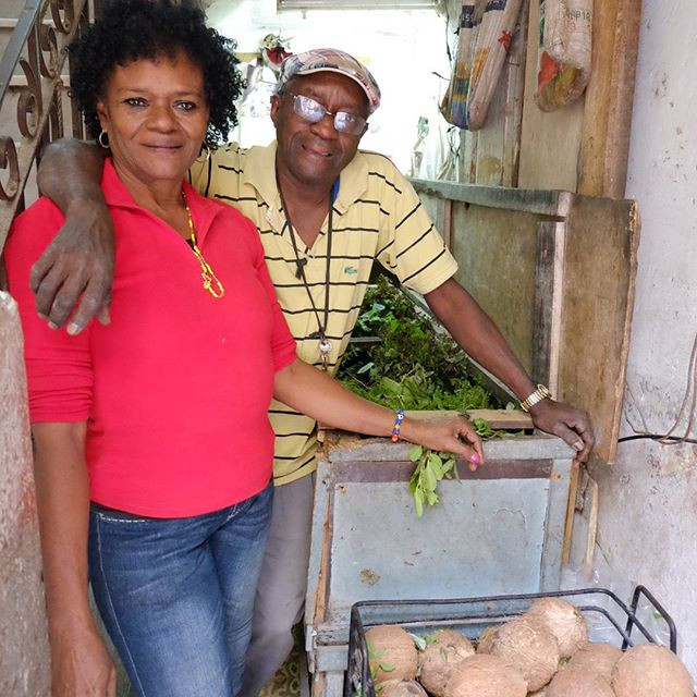 Augustin and his wife run a small shop that sells medicinal herbs in Havana.