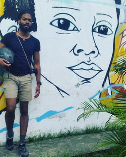 Selfie in Buga, Colombia