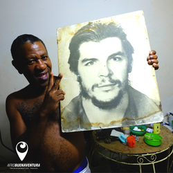 Man in Old Havana, Cuba