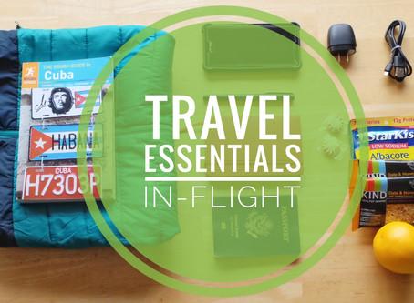 Travel Essentials: In-Flight