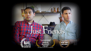 """""""Just Friends"""" Short Film's Official Selections"""