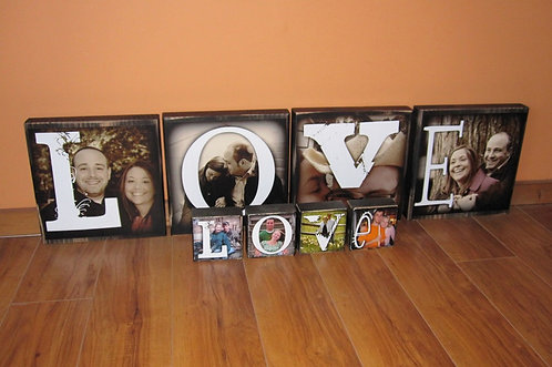 Photo Letter Blocks- XL