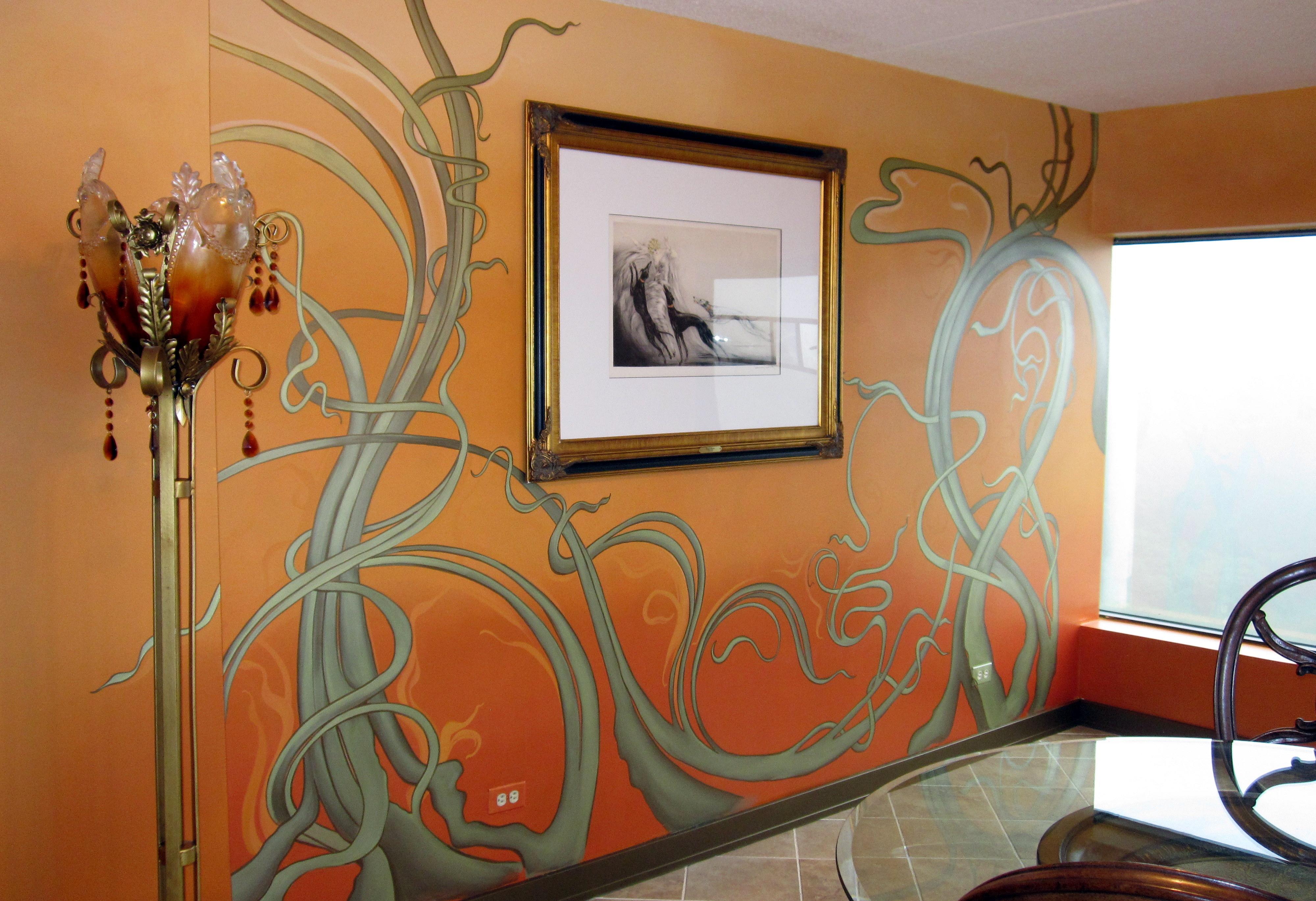 Art Nouveau Mural