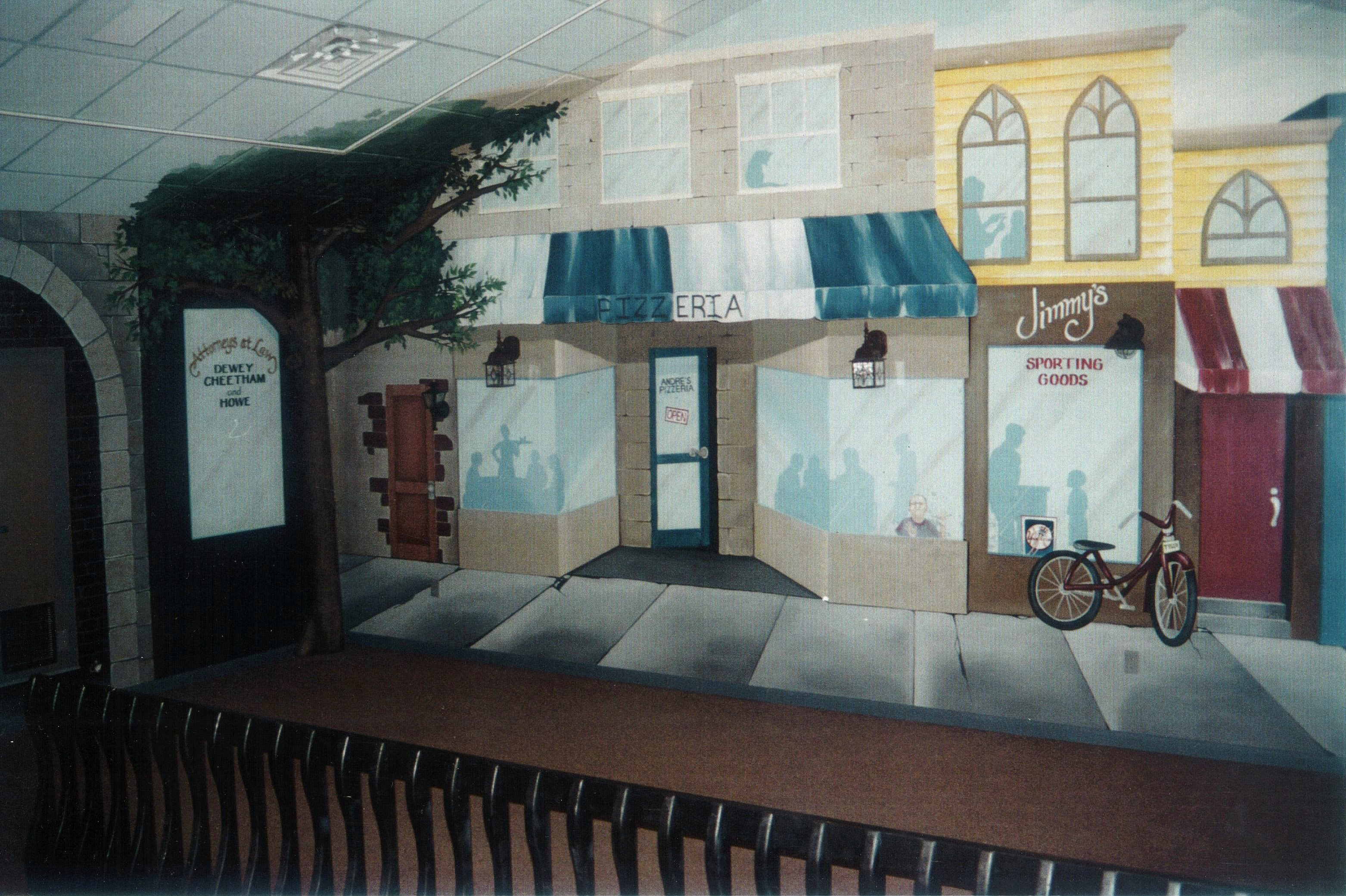 Village storefronts