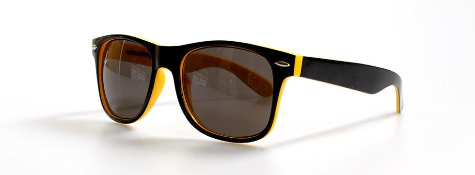 Duo tone zwart-geel