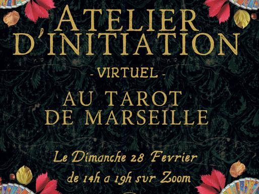 ATELIER D'INITIATION AU TAROT DE MARSEILLE