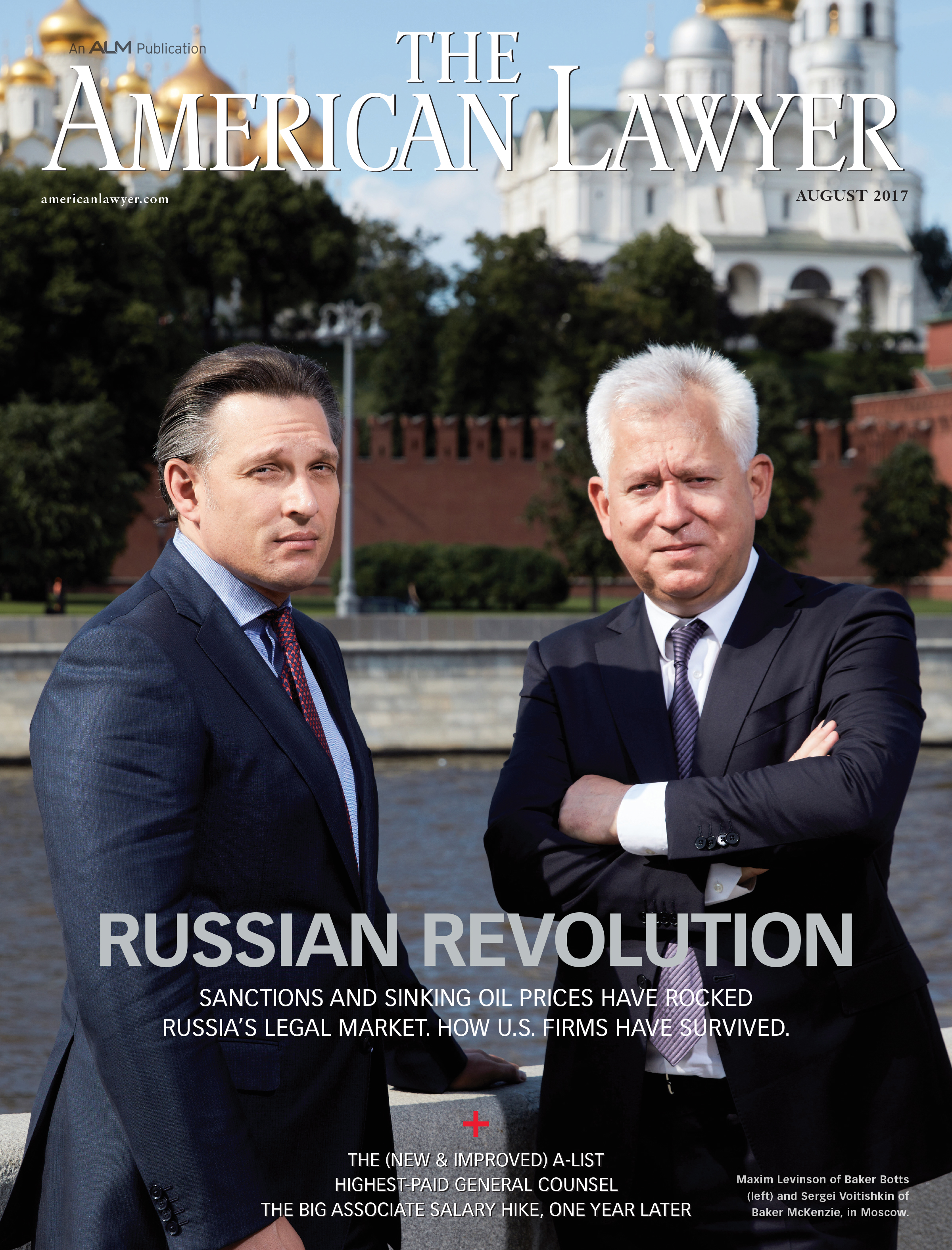 American Lawyer magazine COVER