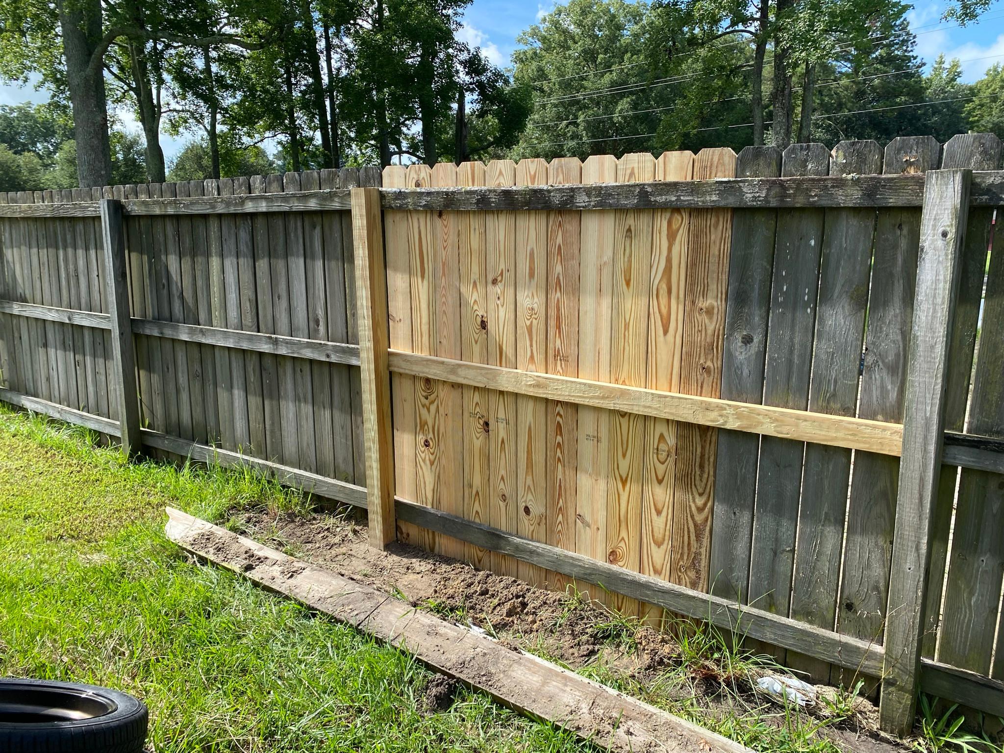 Fence Repair Consultation