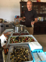 Steve, der Chefkoch