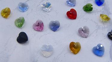 Swarovski® Crystal Hearts