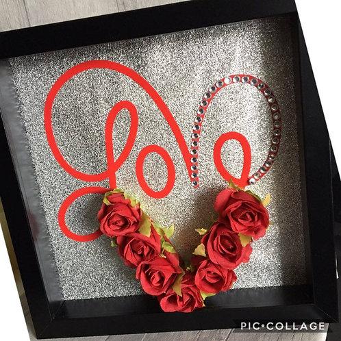Valentine's Day 'Love' Box Frame