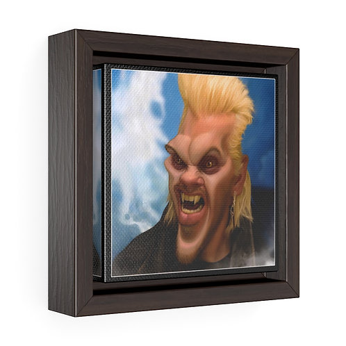 Bulman Pop-scene - Lost Boys -Square Framed Premium Gallery Wrap Canvas
