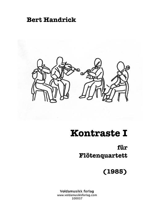 Kontraste I für Flötenquartett
