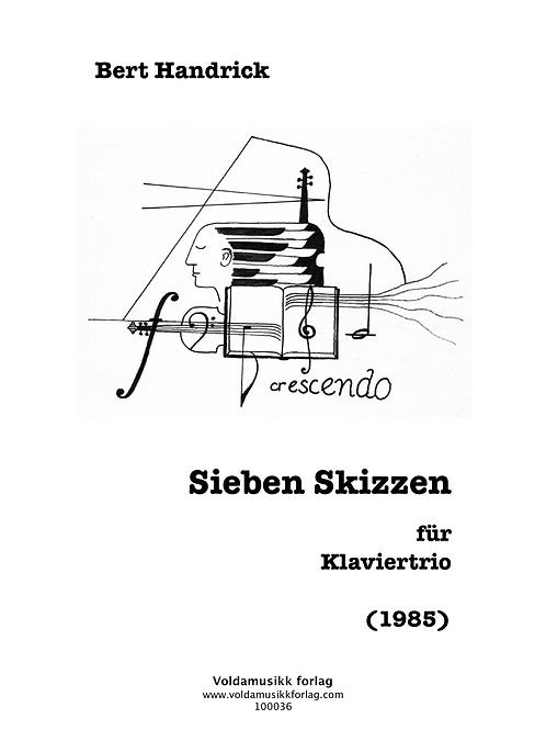 Sieben Skizzen für Klaviertrio