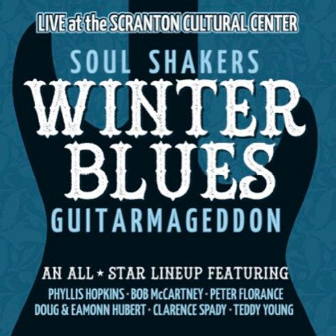The Soul Shakers Winter Blues Guitarmageddon CD