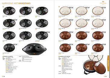 MEINL Sonic Energy Collection Catalog
