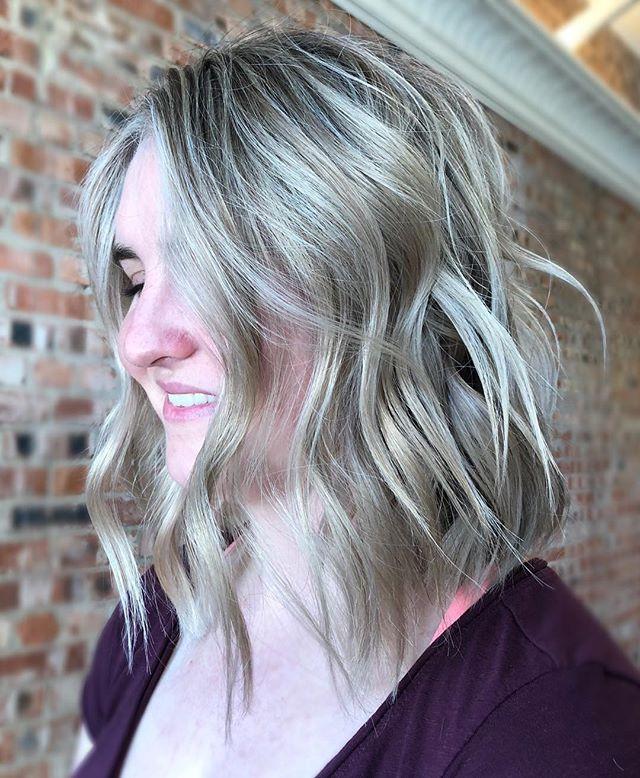 Blonde & texturized