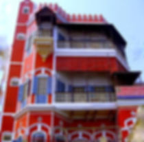 Guest House on Bank of River Ganges