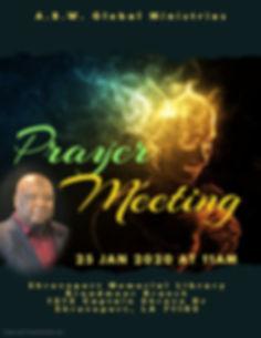 Copy of Prayer Night Church Flyer - Made