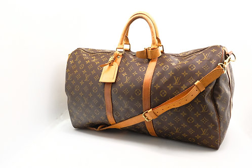 Louis Vuitton Keepall 55 Bandouliere in Monogram Canvas