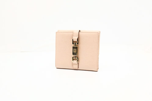 Gucci Jackie Wallet in Pink Leather