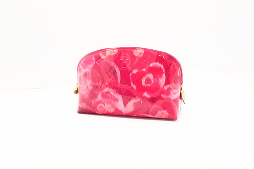 Louis Vuitton Pochette Cosmetique in Pink Ikat Flower Vernis Leather