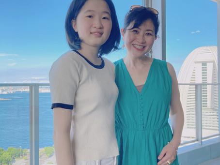 Yokohama bay/横浜の海を眺めながら