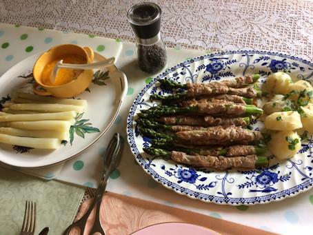 Asparagus season / アスパラガスの季節