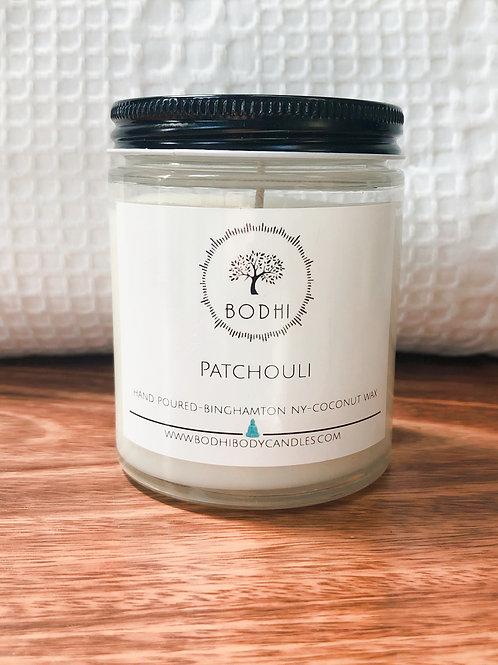Patchouli Apricot Wax Candle