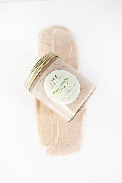 Finely Awake Plantfoliant Silkening Face Cleansing Polish
