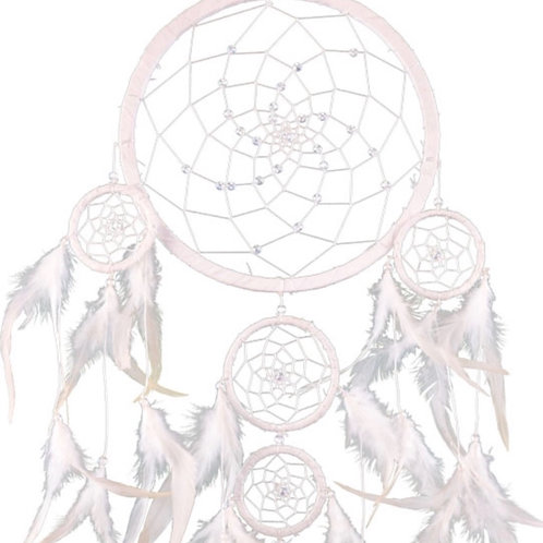 White Angel Dreamcatcher