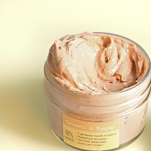 Mighty Tighty Turmeric & Banana Tightening Mask