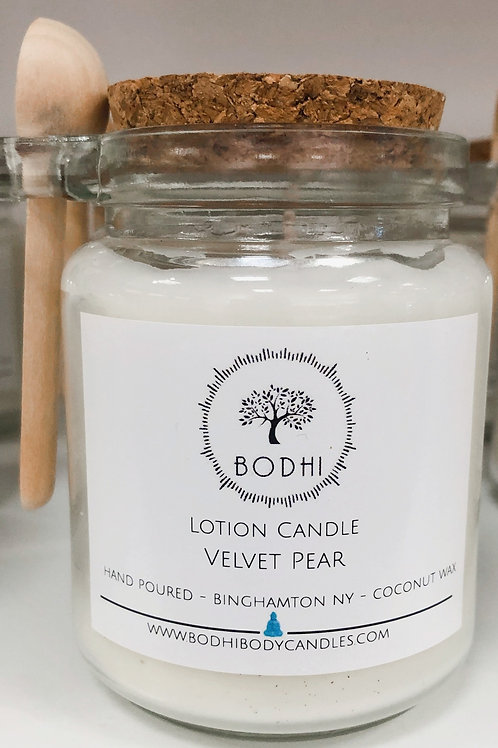 Velvet Pear Lotion Candle 2021