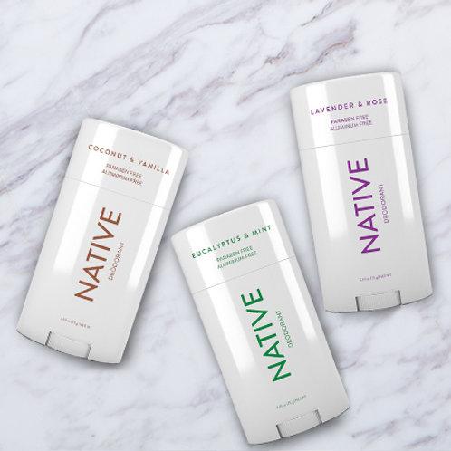Native Deodorant & Body Wash Combo