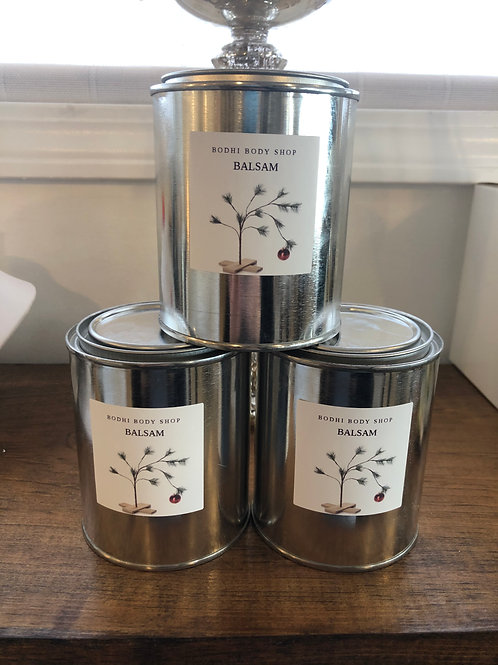 Balsam Paint Can Candles