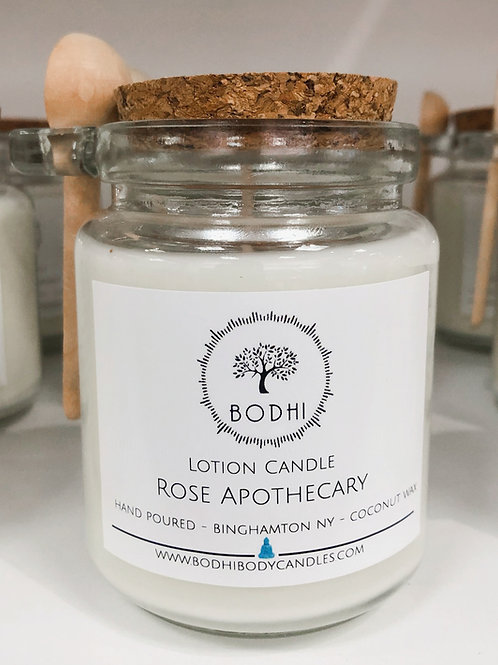 Rose Apothecary Lotion Candle