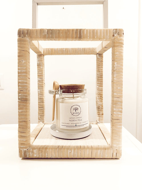 Flannel Lotion Candle