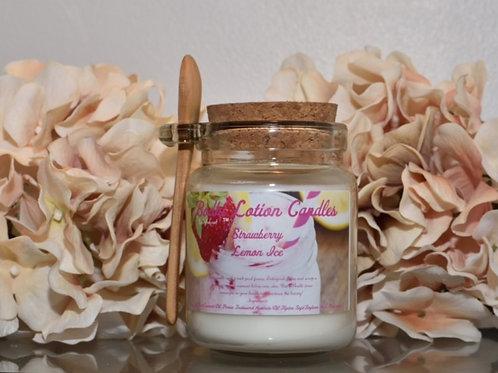 Strawberry Lemon Ice Body Candle