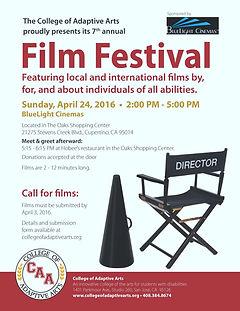 Adaptive Arts Film Festival