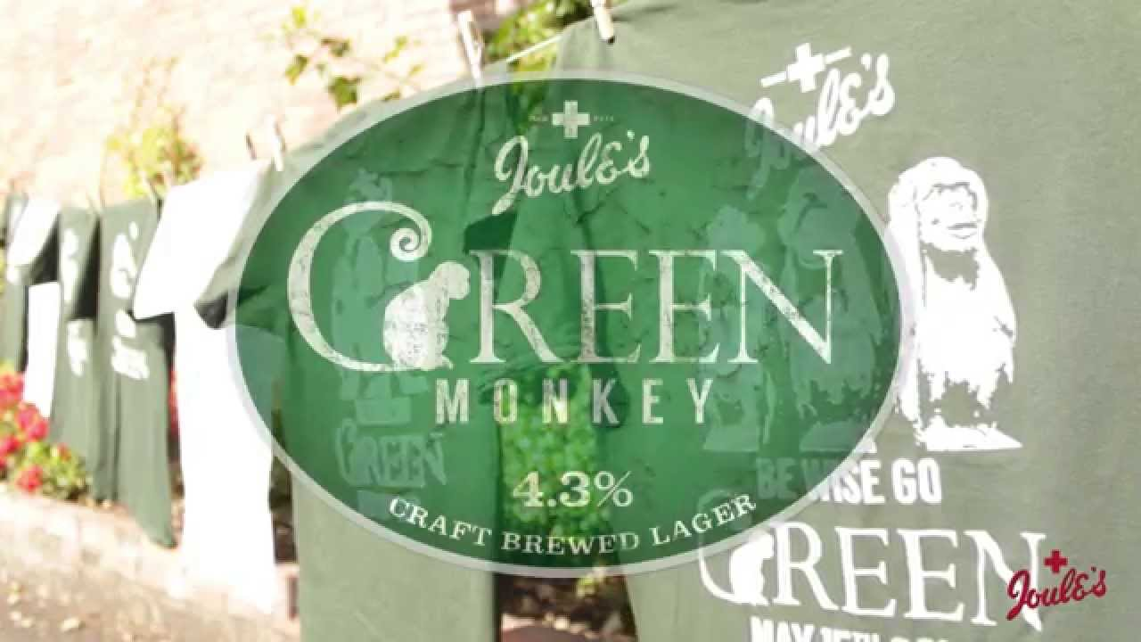 Joule's Green Monkey 4.3%ABV
