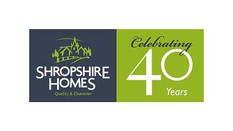 Shropshire Homes 40th year logo.jpg