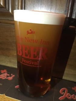 Branded festival glassware
