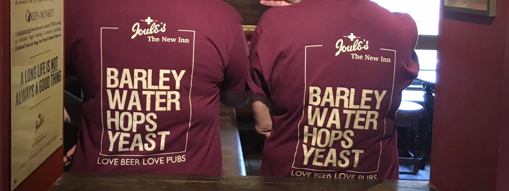 The team t-shirts