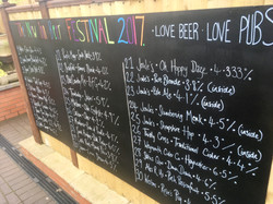 The beer listing