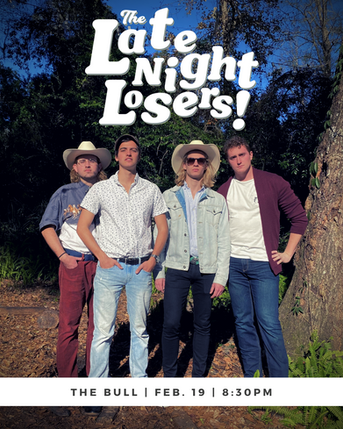 The Late Night Losers | Jacob Welson, Thomas Allain, Wilson Gaberino, Chris Schaefer | Typography by Kevin Euerle