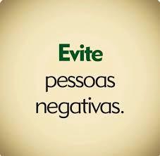 Pessoas Negativas