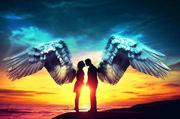 mensagens dos anjos do amor para você e