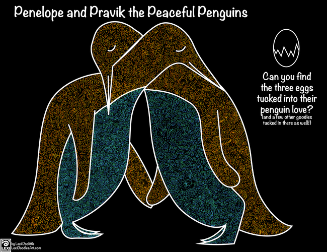 Penelope and Pravik the Peaceful Penguins