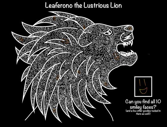 Leaferono the Lustrious Lion (key)