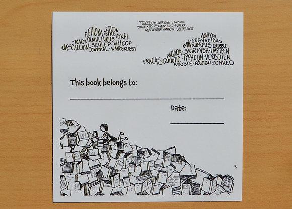 Literary Bookplate